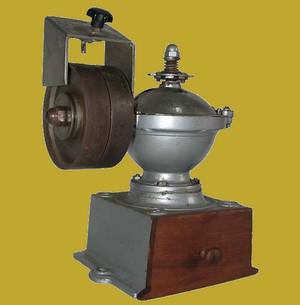 Invention Moulin A Cafe De Comptoir